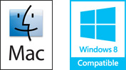 Macintosh and Windows Logo