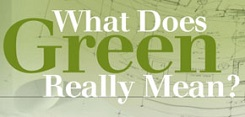 What does Green Really Mean?