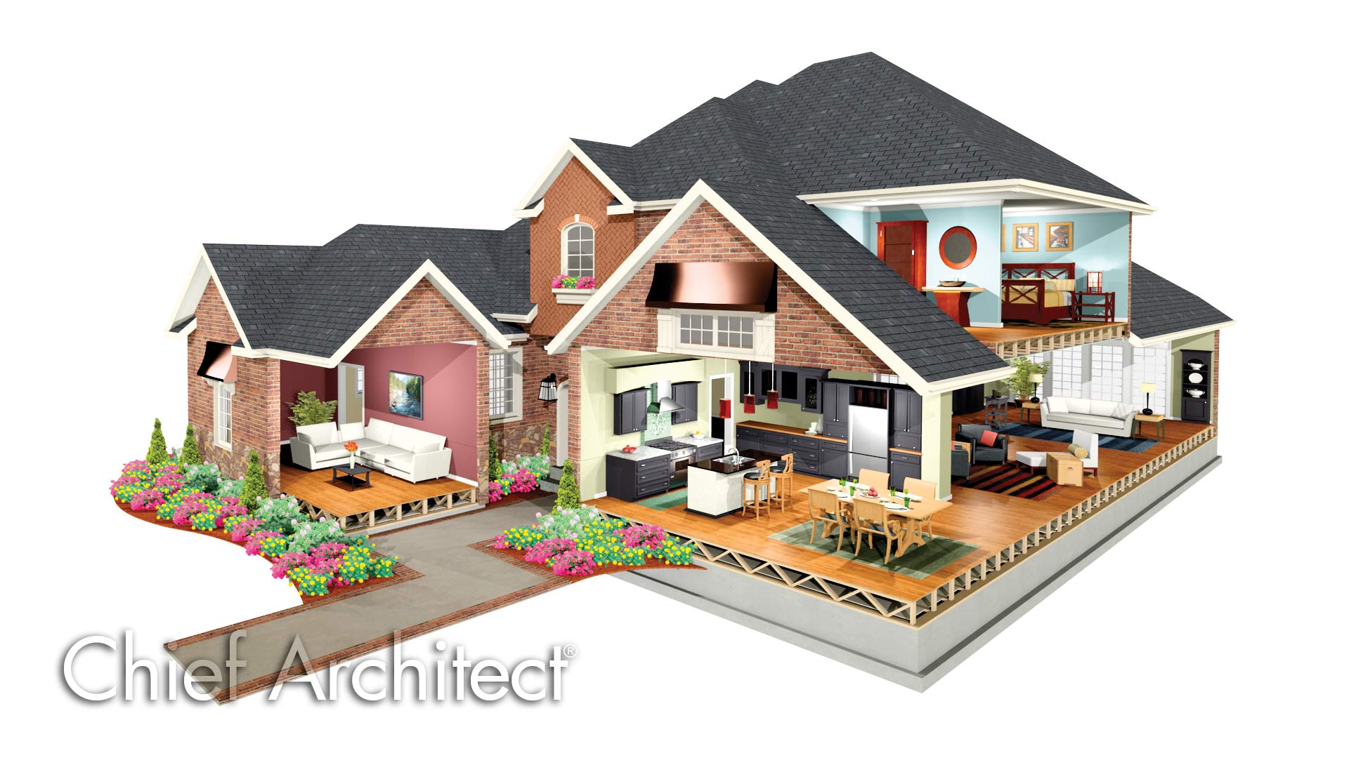 Chief architect home design 2015 best auto reviews for Home designer architectural