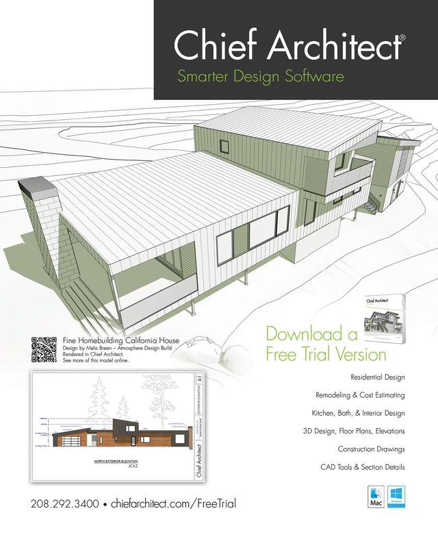Chief Architect Home Design Software magazine Ad