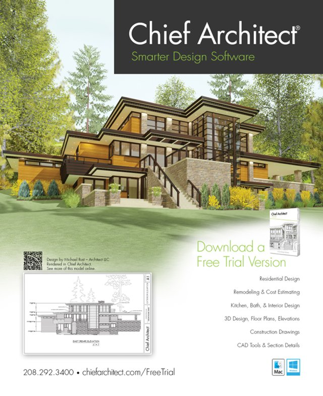 Build It 3d Home Design Software: Chief Architect Home Design Software Ad
