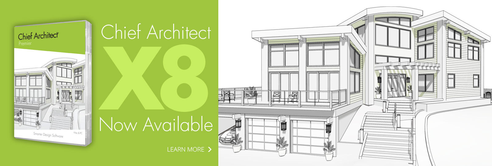 chief architect x8 available for download - Personal Home Designer