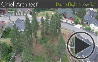 residential drone home video overview