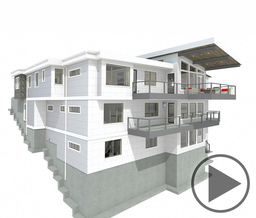 Home design Time lapse of the Grandview project Chief Architect  Architectural Design Software