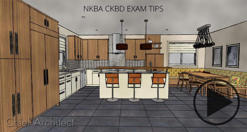 NKBA CKBD Exam Tips - Chief Architect Software