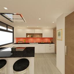Medium Kitchen design by Breck Dangler.