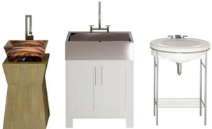Various basin sink styles