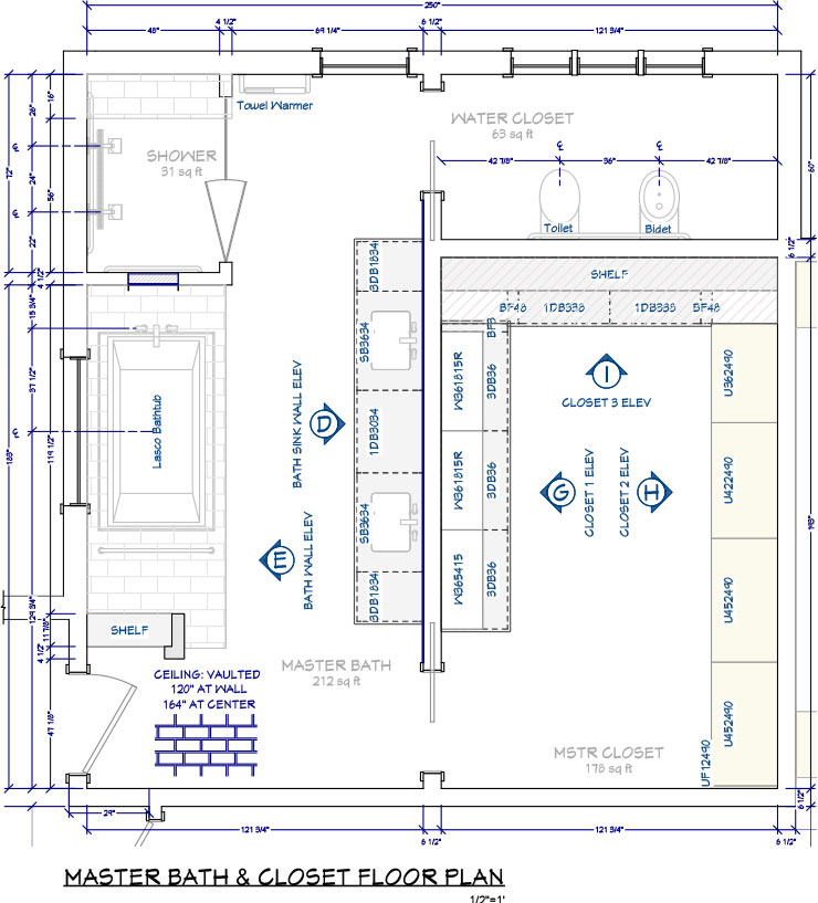 Chief Architect Interior Software For Professional Interior Designers - Bathroom floor plan design tool