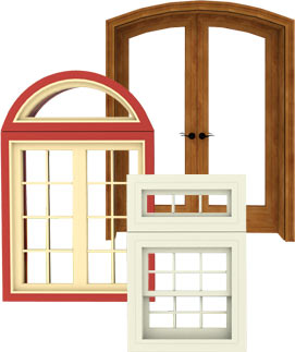 Different door and window styles