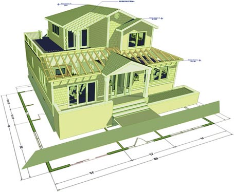 Chief architect home design software premier version 3d home builder software