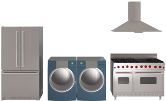 Kitchen and Bathroom appliances
