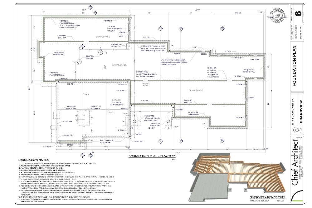 Chief architect home design software for builders and for House plans with material list