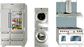Collection of appliances