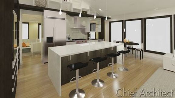 FIVE-12 KITCHEN Project - Custom Kitchen Ceiling Options