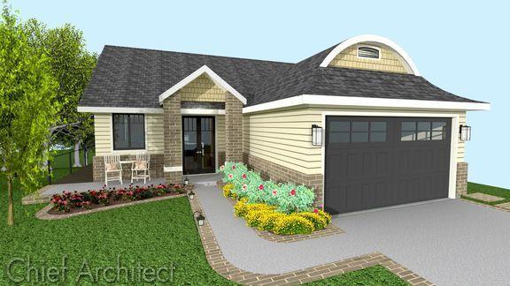 Dutch Cottage Home Design Project