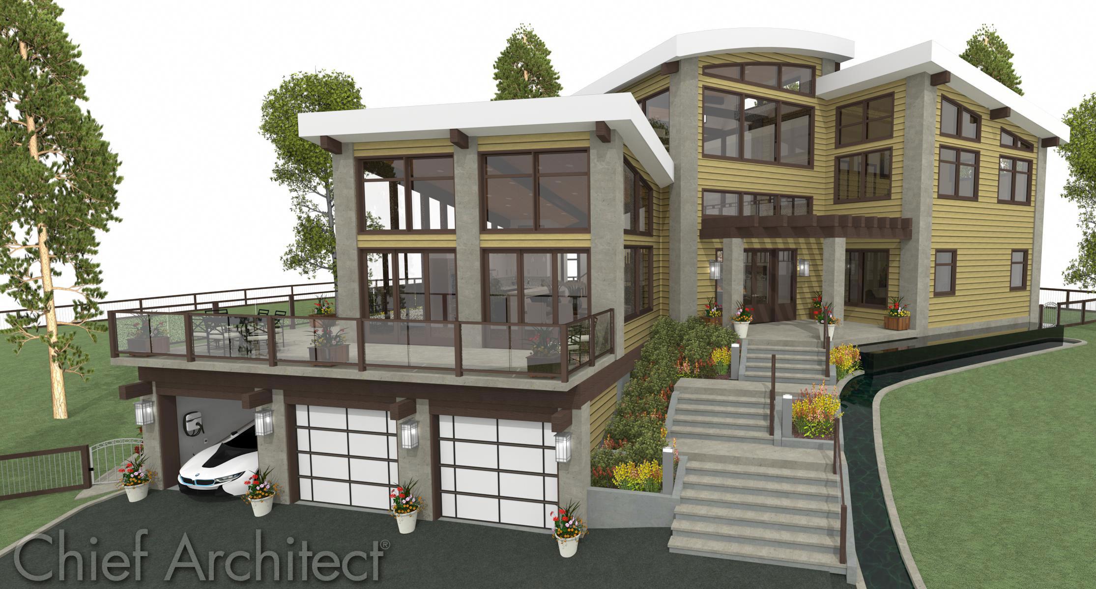 Home Design Software: Chief Architect Home Design Software
