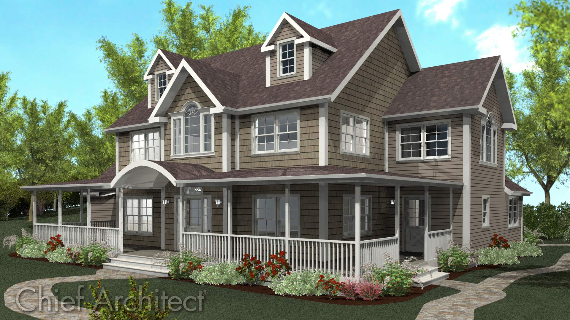Chief architect home design software sample gallery for Chief architect house plans