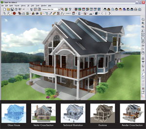 how to send 3d home architect plan in email