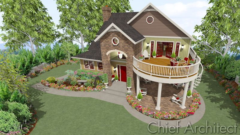 How To Build  And Half Story House Chief Architect