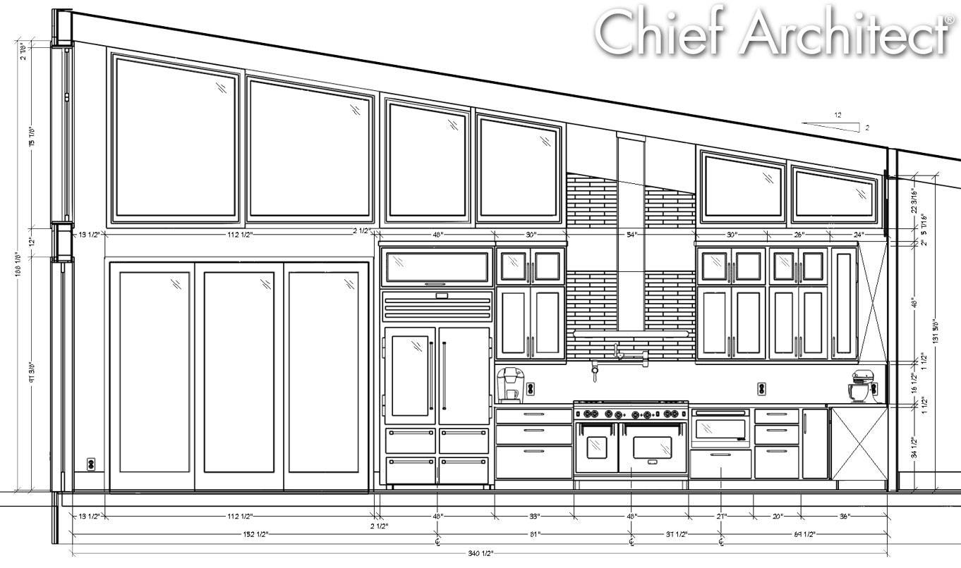 Chief Architect Kitchen Bar