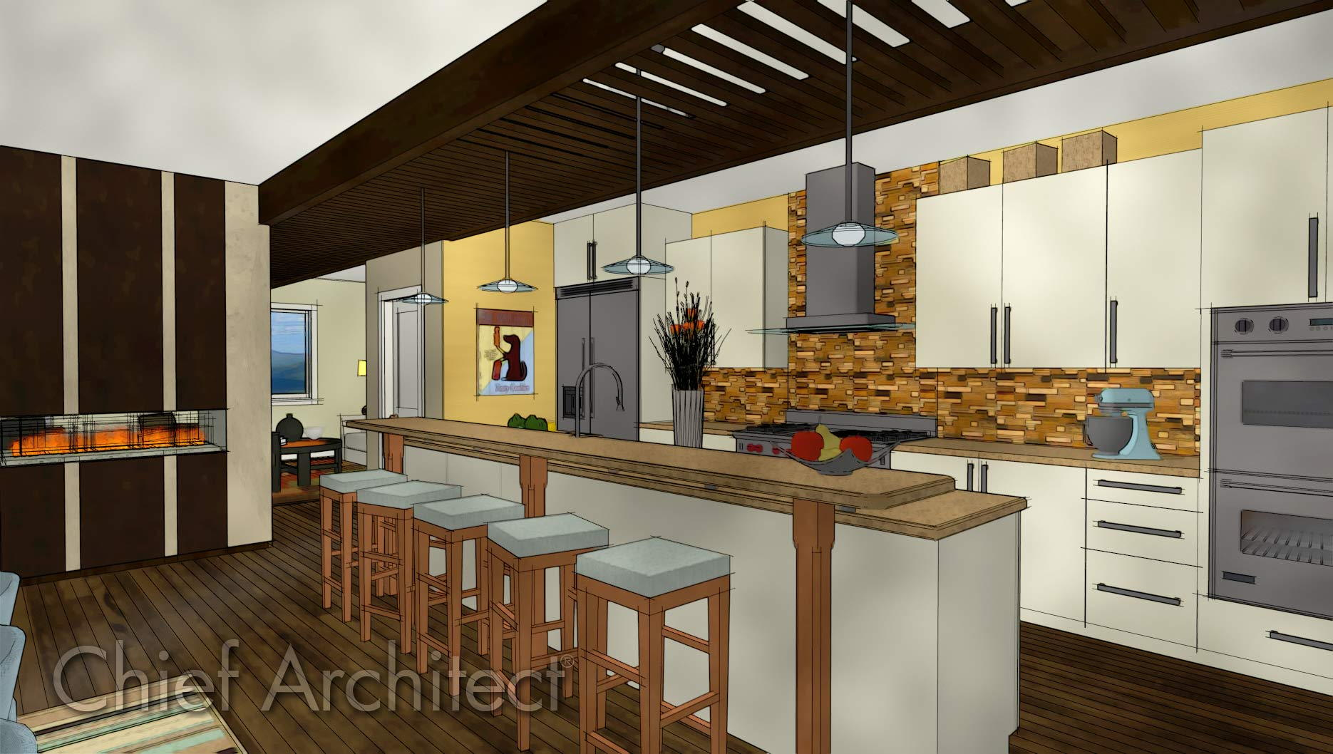 Chief Architect Home Design - Samples Gallery on
