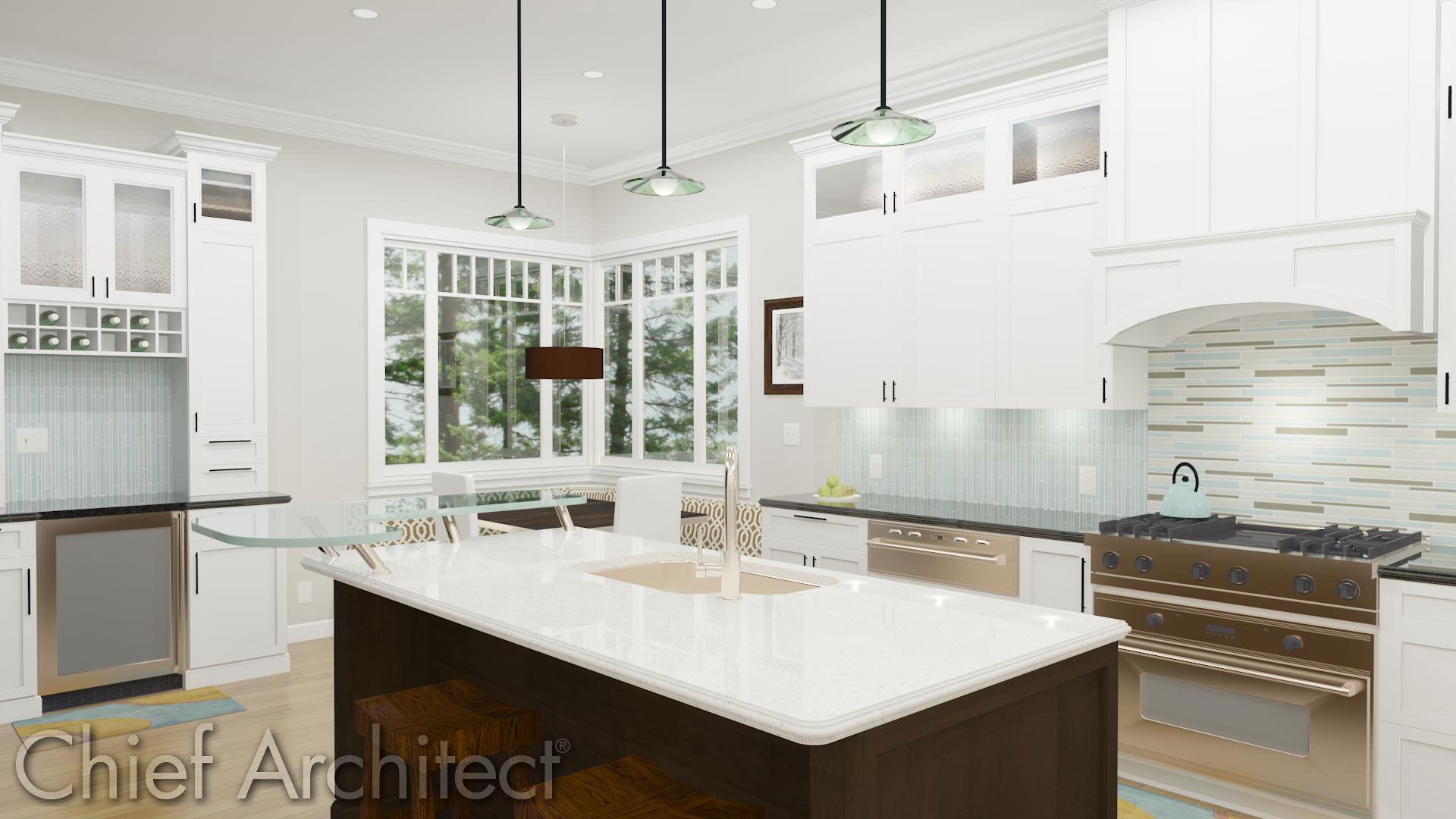 Chief Architect Kitchen Bar