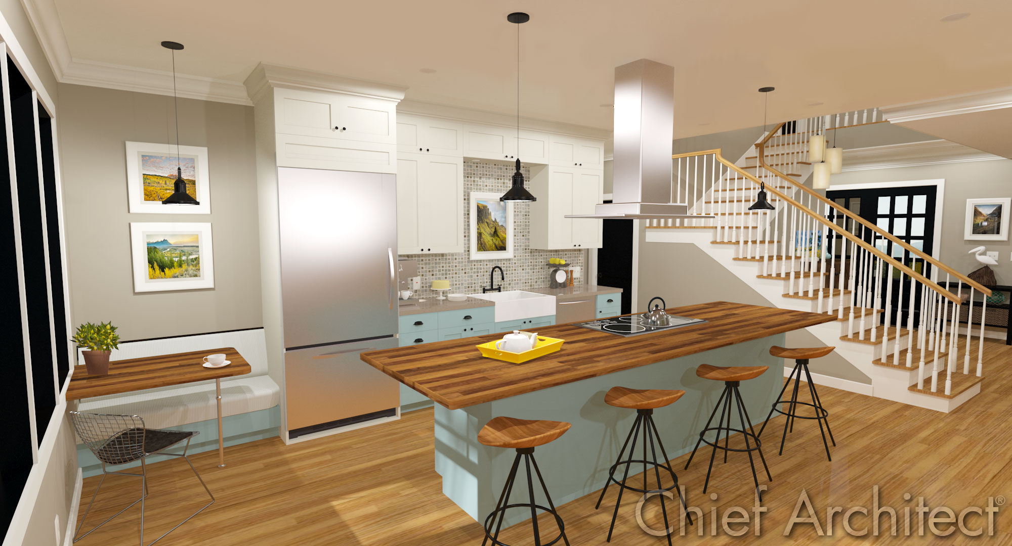 Kitchens   Baths. Chief Architect Home Design Software   Samples Gallery