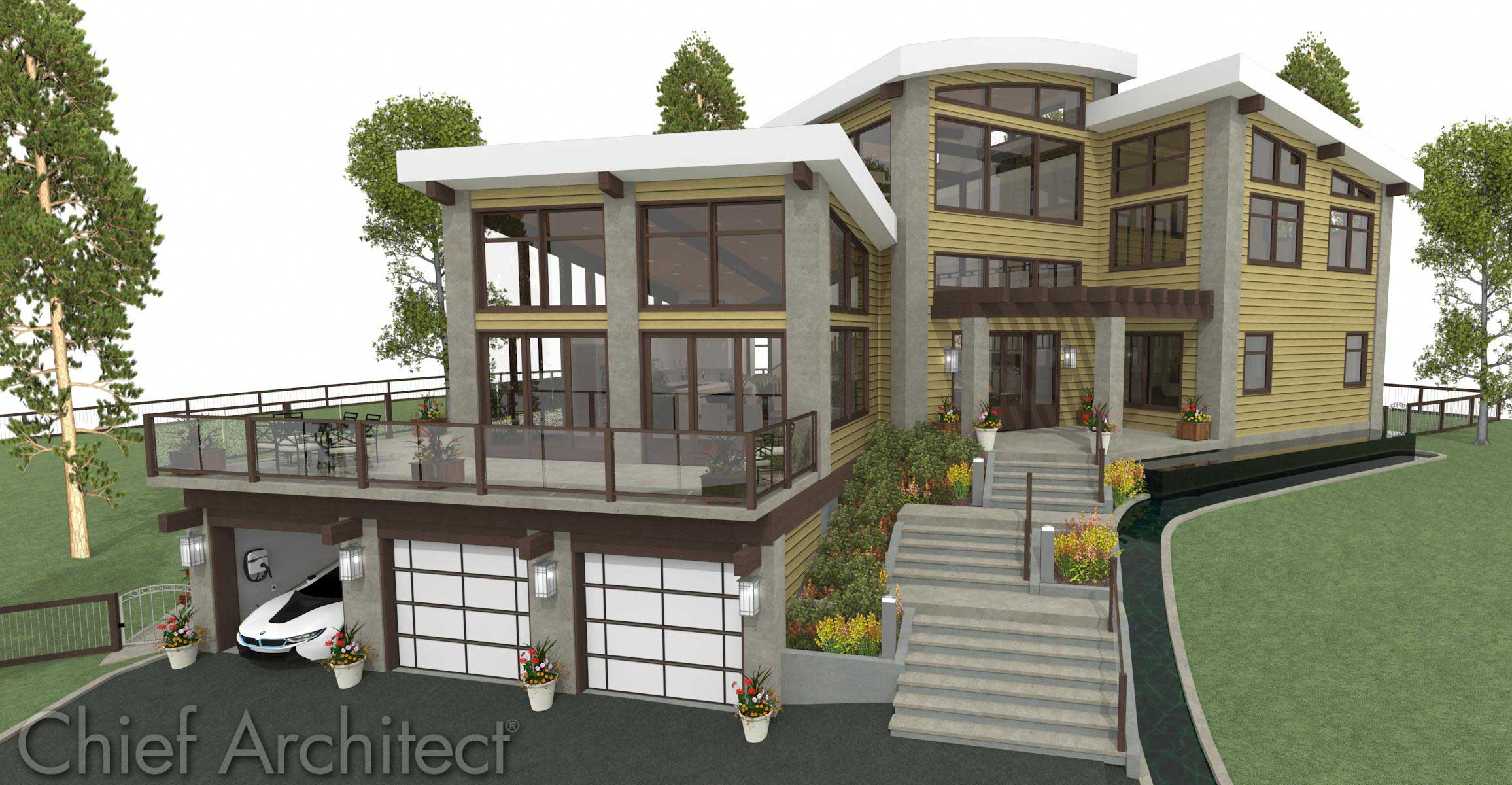 Architecture Design 3d chief architect home design software - samples gallery