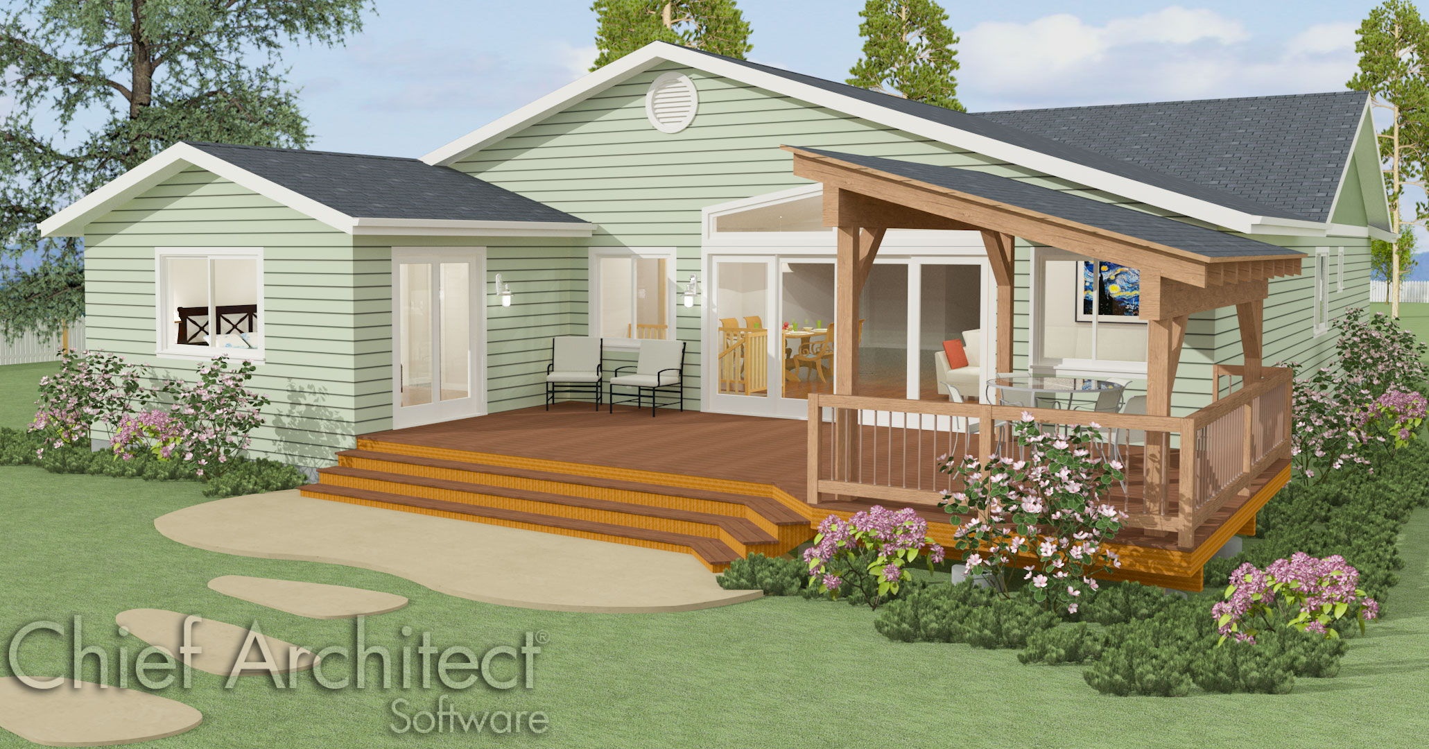 Chief architect home design software samples gallery for Build as you go house plans