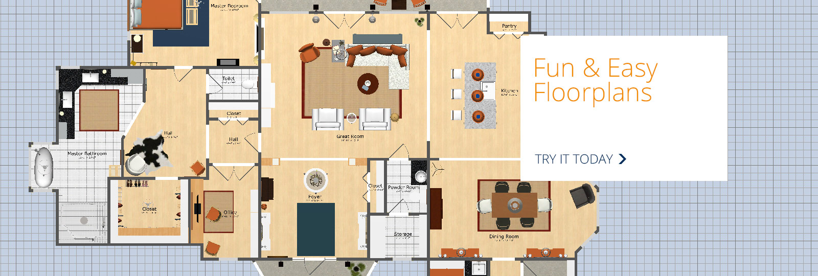 Fun and Easy Floorplans. Visualize Your Rooms