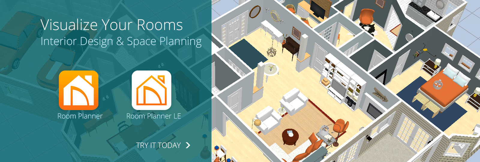 visualize your rooms - Design A House App