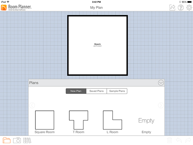 Starting a new project for Basic 2d room planner